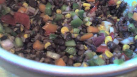 Sunday Salad Samplers #2 – Black Bean Salad