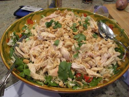 Sunday Salad Samplers #4 – Thai Chicken Salad
